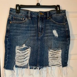 JBD. distressed skirt size Medium